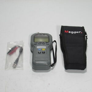 Megger Tdr 900 Time Domain Reflectometer Cable Length Meter With Case