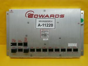 Edwards D37902010 Frame Interface Box 24v Dc 8 4w Module Used Working