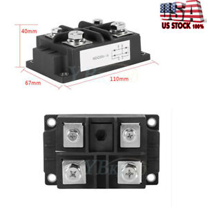 New 60 400a High Power 1600v Single Phases Diode Bridge Rectifier Optional