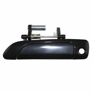 New Front Driver Side Exterior Door Handle For 01 05 Honda Civic Sedan Coupe