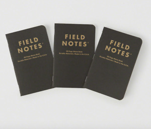 New Sealed Field Notes Abercrombie Fitch Print Paper Memo Book Notebooks