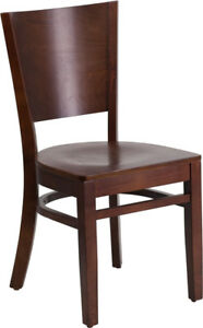 Lacey Series Solid Back Restaurant Chair