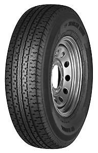 4 New st225 75r15 E Tl Trailer King Ii St Radial225 75 152257515 Tires no Rim