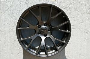 4 Wheels 20 Inch Matt Black Rims Fits Dodge Charger Srt8 2006 2014