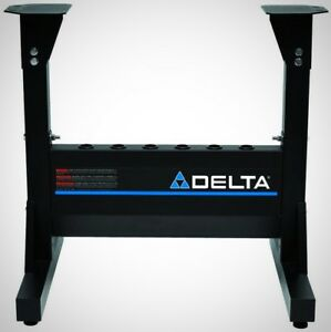 Delta Midi Lathe Stand Wordworking Tool Bench Adjustable Heavy Duty Sturdy