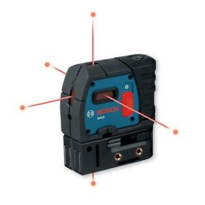 Bosch 5 point Self leveling Plumb And Square Laser