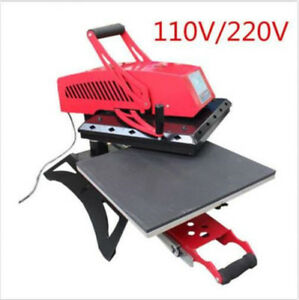 16 X 24 Swing Away Manual T shirt Heat Press Machine High Quality Pull Out