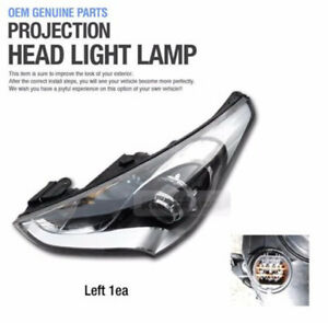 Genuine Parts Projection Head Light Lamp Left Assy For Hyundai 2011 17 Veloster