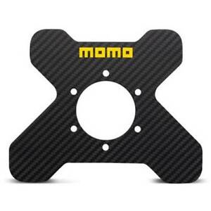 Momo Racing Steering Wheel Carbon Fiber Four Button Plate