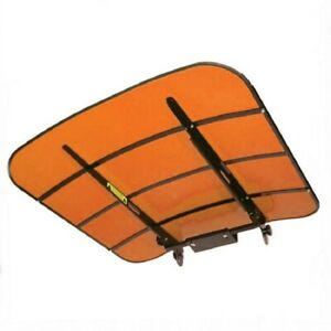 44 X 44 Kubota Orange Tufftop Tractor Mower Canopy