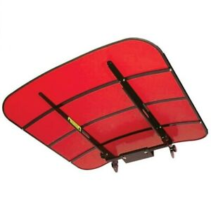 44 X 44 Universal Red Tuff Top Tractor Mower Canopy Perfect For Case ih Mf