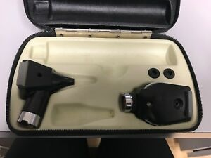Welch Allyn Otoscope Ophthalmoscope Kit Good Condition
