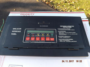 Simplex 4100 8201 Interface Lcd Display Panel Fire Alarm 841 731only One On Ebay