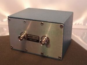 Pomona 3311 Blue Shielded Aluminum Enclosure Bnc