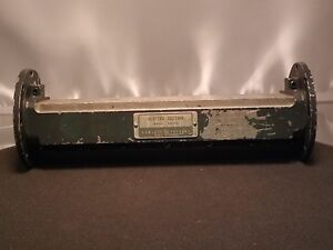 Hp Agilent G810b Microwave Waveguide Slotted Section Cracked Flange As Shown
