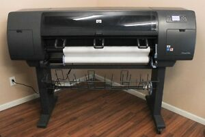 Hewlett Packard Hp Designjet 4000ps 4000 Large Wide Format Printer Plotter