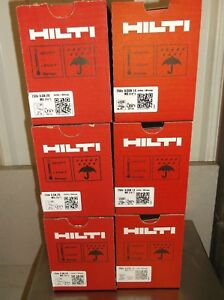 Hilti Gx 120 Pins Fuel Cells Mix Case 3 Boxes 3 4 3 Boxes Of 1 2 Free Ship