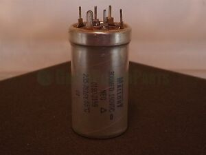 Mallory Hp Agilent 0180 2159 300uf 150vdc Can Capacitor Nos
