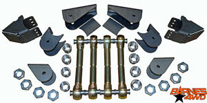 Triangulated Uppers 1 1 4 Enduro Joint 4 Link Suspension Diy Kit