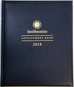 2018 Weekly monthly Smithsonian Appointment Book planner 7 1 2 In X 9 In
