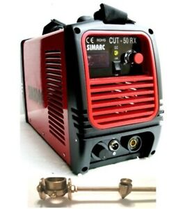 Plasma Cutter 50a 110 220v 1 2 Cut 60a Torch Simadre 50rx Cut Guide