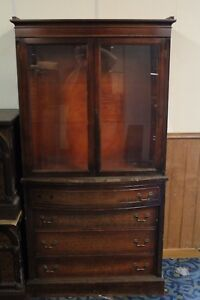Glass Door Armoire Wardrobe With Drawer Base