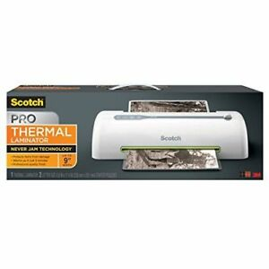 Scotch Pro Thermal Laminator 2 Roller System Tl906 New