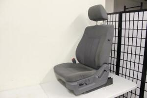 09 13 Ford F150 Front Seat Power Track Gray Cloth Oem Driver left Side