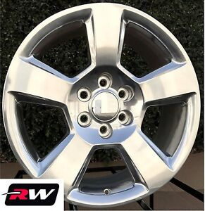 2015 2018 Chevy Suburban Oe Replica Wheels Polished 5652 Rims 20 Inch 20x9
