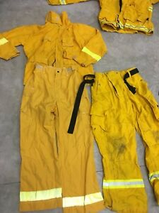 Nice Wildfire Firefighter Gear Brush Fire Combo Sale Pant Jacket Set For 1 Price