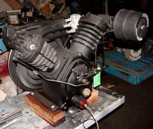 10hp Ingersoll rand 2545 2 stage Pump Air Compressor Rebuilt Pump For 5 7 5