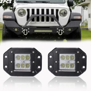 Fit Ford F150 250 350 Truck Suv Backup Reverse 3 Inch Cube Pods Led Light Bar