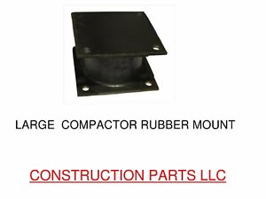Large Vibratory Plate Compactor Rubber Isolator Shock Mount