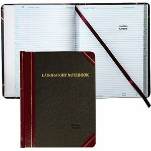 Boorum Pease Laboratory Notebook L21 300r 10 3 8 X 8 1 8 300 Pages
