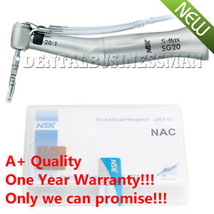 Dental S Max Sg20 Implant Contra Angle Reduction 20 1 Low Speed Handpiece A Ce