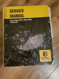 New Holland Service Manual Dozer Crawler Dc70 dc80 dc100 includes Lgp