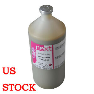Us Stock j next 1 Liter Subly Jxs 65 Dye Sublimation Ink Yellow For Epson