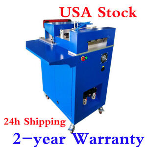 Us Stock Ving Cnc Notching Machine For Metal Channel Letter Single Side Notcher