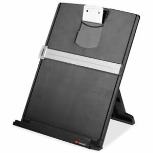Electronics Features Desktop Document Holder Adjustable Clip Holds Letter A4