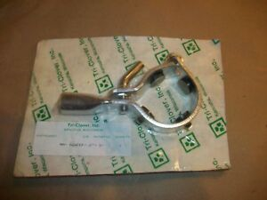 Tri clover Clamp Mm a24fcf 2 s 2 Stainless Steel New