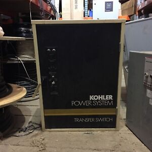 480 Volt 70 Amp Kohler Automatic Transfer Switch K 166341 70