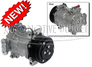 A c Compressor W clutch For Sanden 4342 4351 4466 4850 New