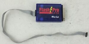 Actel Flash Pro Lite Portable Programmer Proasic Devices Rev C W Data Cable
