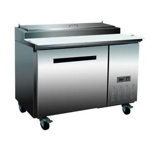 Maxx Cold Mxcpp50 12 Cu Ft Pizza Prep Table Refrigerated 47 Megatop Rfb