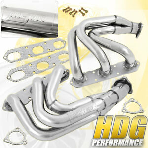Exhaust Headers Manifold Stainless Steel For Porsche 99 04 996 997 Carrera 911