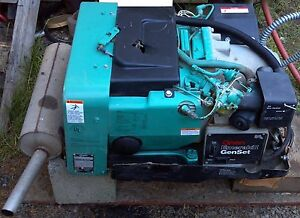 4 Kw Onan Emerald 1 Genset 4 000w 120v 1ph 1800 Rpm Gasoline Generator Low Hours