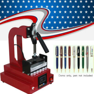 Digital Ballpoint Pen Heat Transfer Machine Pen Heat Press Machine Printing Diy