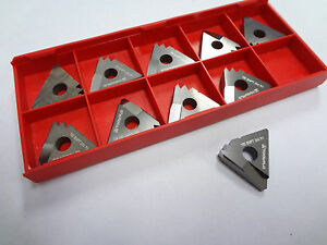 Tool Flo Carbide Threading Inserts Ye5 8npt 2m Qty 10 5969e835