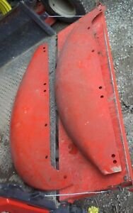 Allis Chalmers B Ib Tractor Ac Rear Pair Set Clamshell Fender Fenders Clam Shell