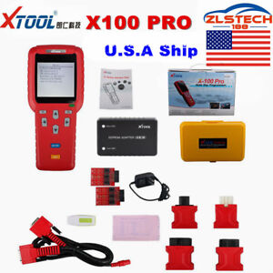 Us Ship No Tax Xtool X100 Pro Obd2 Scanner Auto Programmer X100 Updated Version